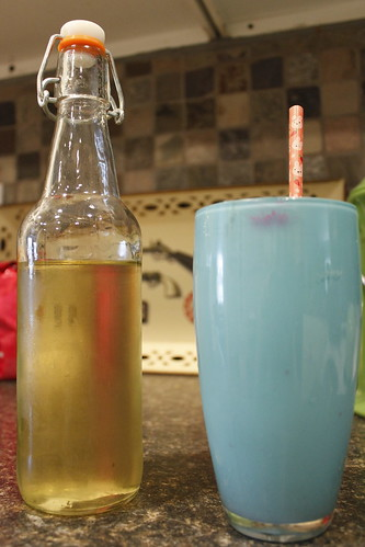 20120421. Lavender simple syrup + club soda = love.d of the season.