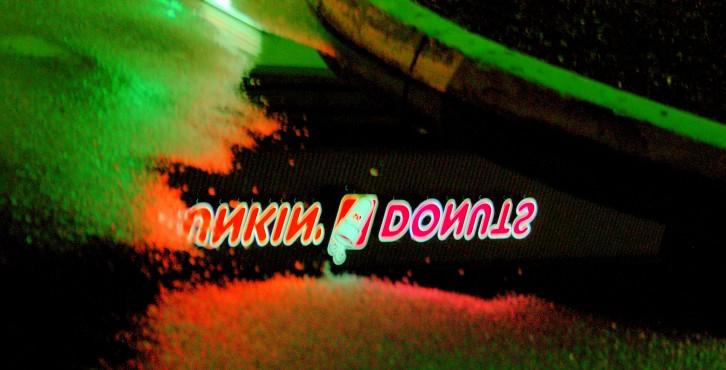 Dunkin' Donuts Reflection  ©  Nicolas Liu
