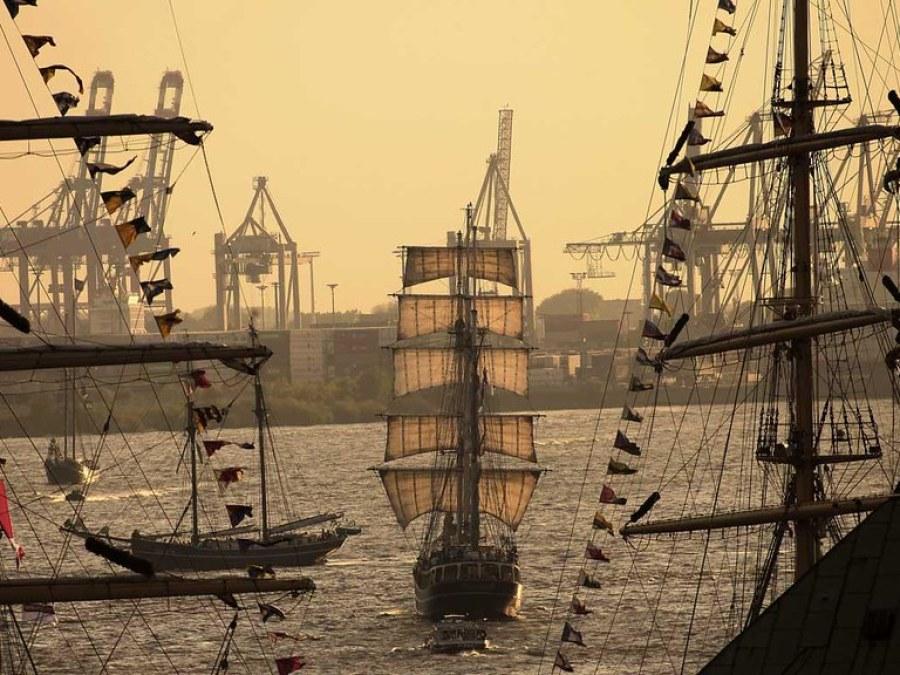 Hamburg programma Hafengeburtstag, foto door Navjot Singh