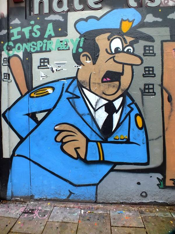 Inspector Dibble, Street Art at Stokes Croft, Bristol
