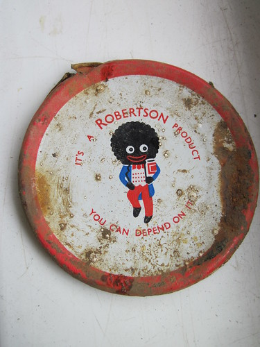 Robertson Golly Lid (can anyone date it ?)