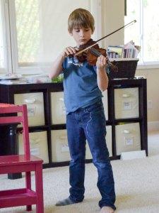 Daniel performing for us
