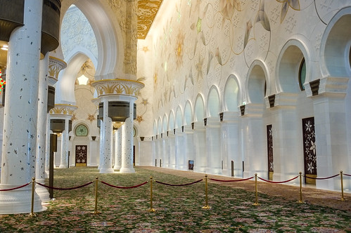 Sheikh Zayed Mosque - Interior III.
