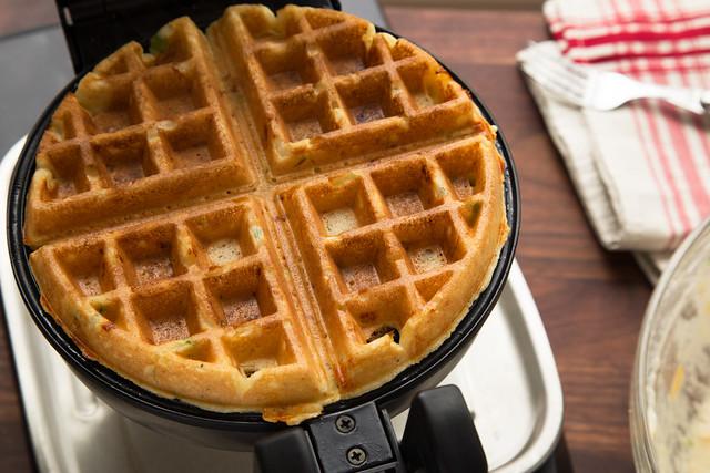 baked Belgian waffle