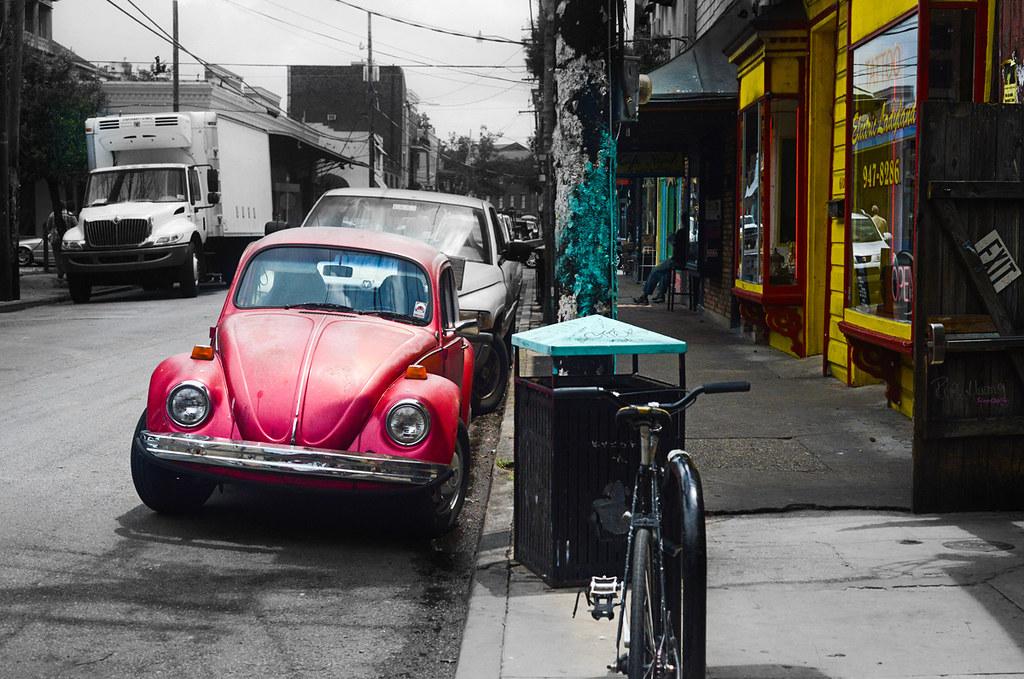Vintage - A Pink Bug!