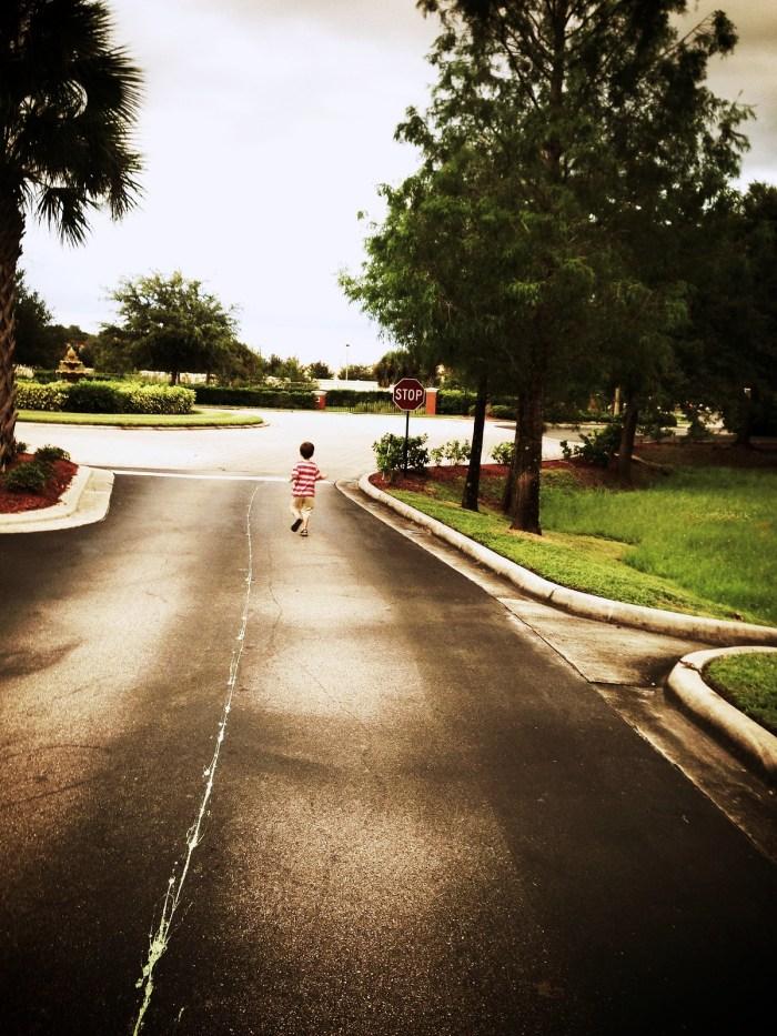 Matthew running