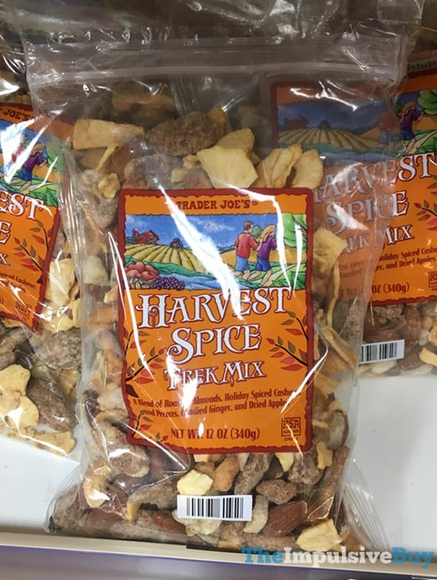 Trader Joe's Harvest Spice Trek Mix