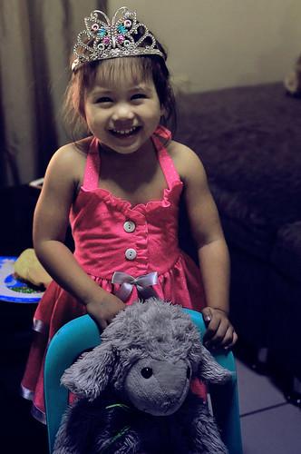 Princess Lia with Tutu