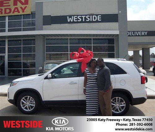 Westside Kia would like to wish a Happy Birthday to Emmanuel Jackson! by Westside KIA