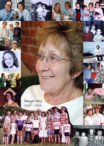 2013 Margie Moe, Memorial Collage