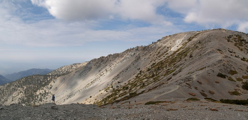 Cloud Shadows on Mt. Baldy and the Bowl