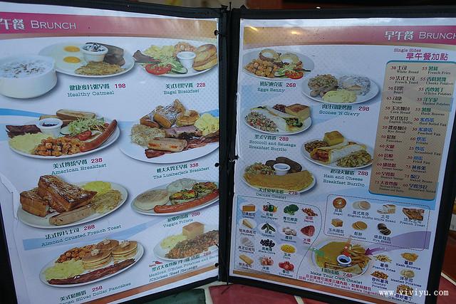 早午餐,桃園,漢堡,美食,黛彼美式餐廳 @VIVIYU小世界