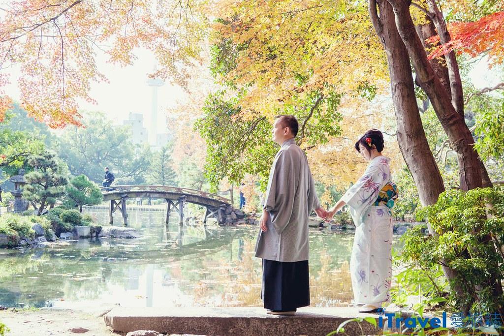 京都和服外拍摄影 (1)