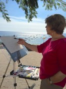Evelyn Dunphy Watercolor Painting Workshop Spain with www.frenchescapade.com