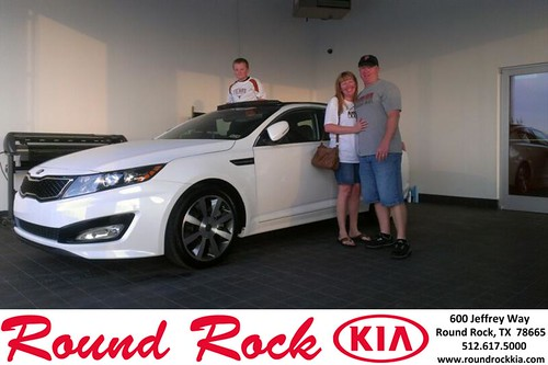 Thank you to Ronnie Bailey on the 2013 Kia Optima from Kevin Rodriguez and everyone at Round Rock Kia! by RoundRockKia