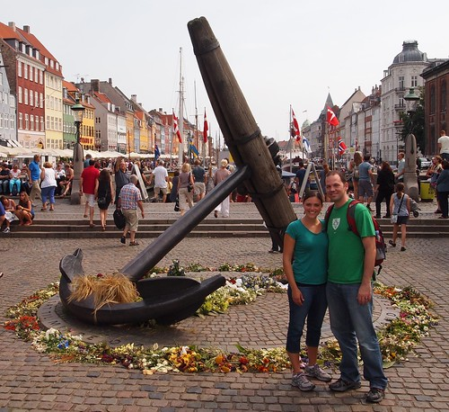 The Memorial Anchor, Nyhavn