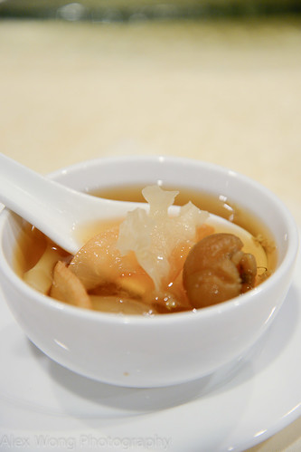 Dried Longan and White Fungus in Syrup