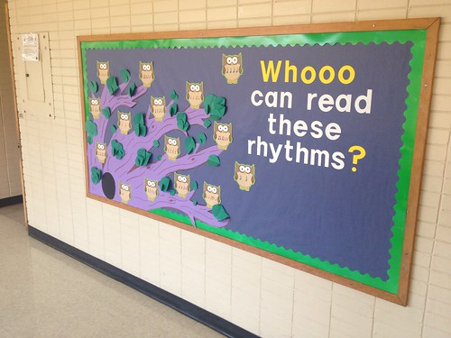 Whooo can read these rhythms?