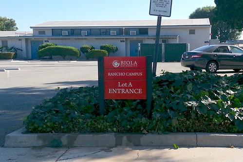Biola Rancho Campus - Entrance