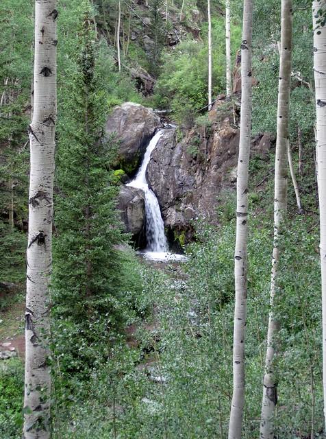 Waterfall Along Nellie Creek Road
