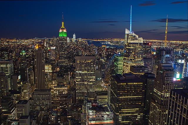 New York, the concrete jungle