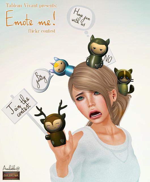 """~Tableau Vivant~ """"Emote me""""! Contest"""
