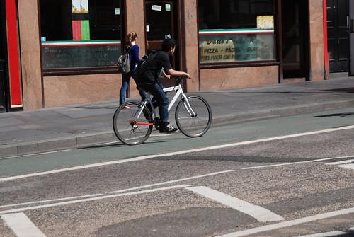 Riding Lothian Road