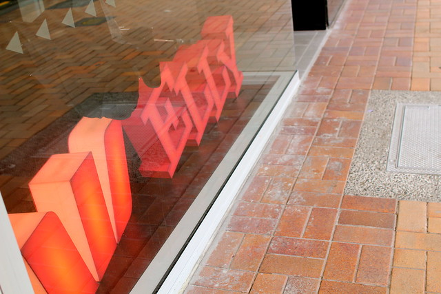 Thursday: new Westpac sign