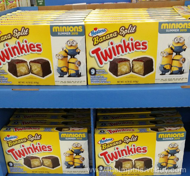 Hostess Banana Split Twinkies