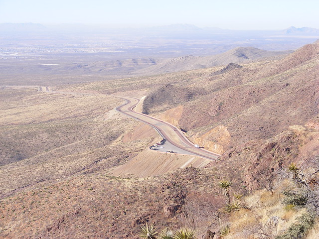 Picture from South Franklin Mountain, Texas