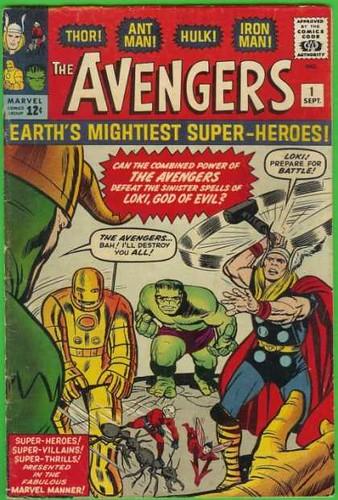 Avengers #001
