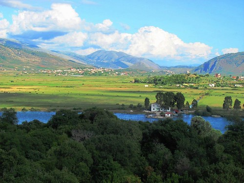Butrint, View To 3,000 BC Settlements