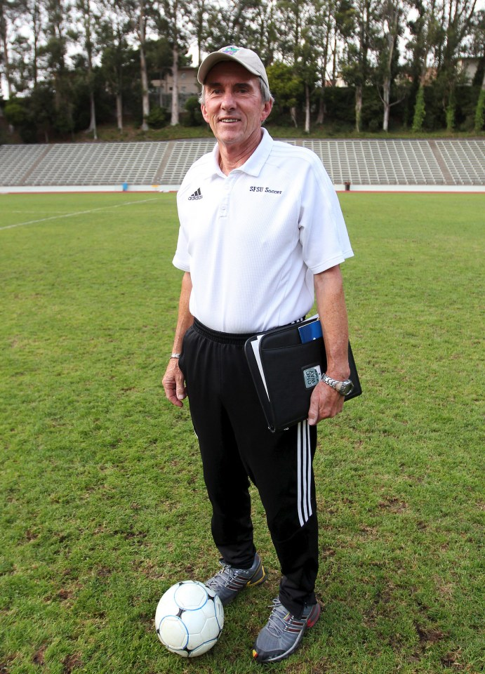 Head Women's Soccer Coach Jack Hyde was instrumental in adding women's soccer at SF State in 1982 and has been the head coach for its entire 29 year existence. Photo Ryan Leibrich / Xpress