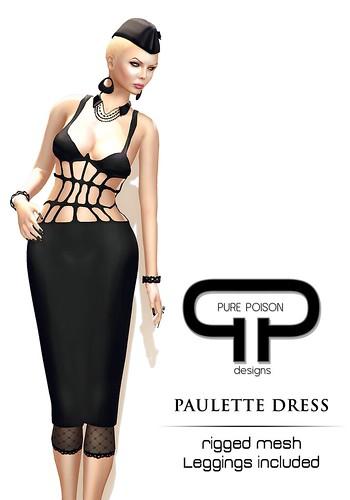 Pure Poison - Paulette Dress