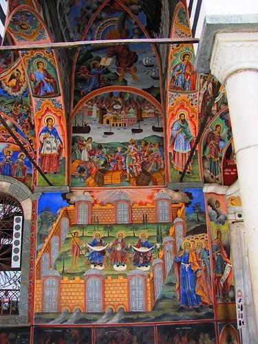 Rila Monastery-Fresco