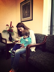 More hanging out in waiting rooms