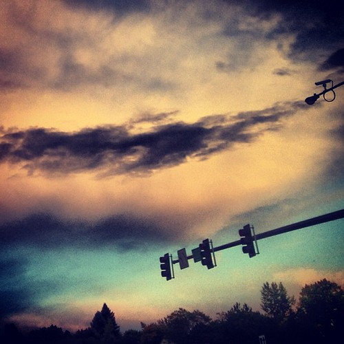 Denver Sunset by @MySoDotCom
