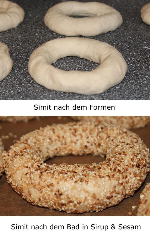 Simit - Türkische Sesamkringel