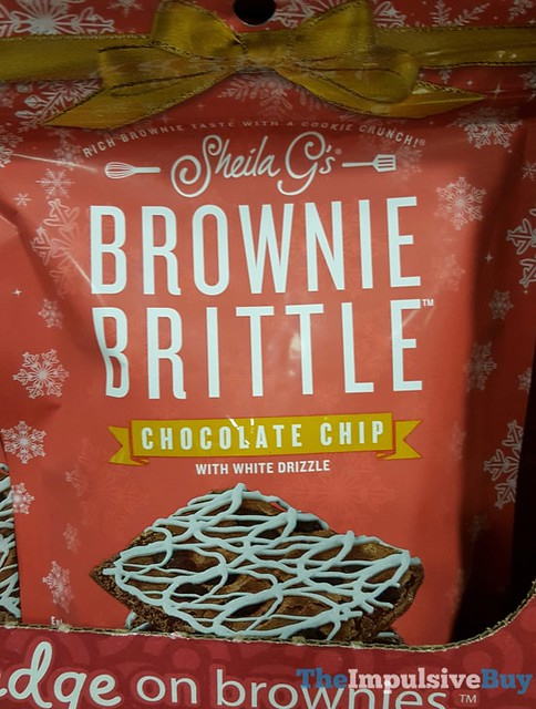 Sheila G's Brownie Brittle Chocolate Chip with White Drizzle