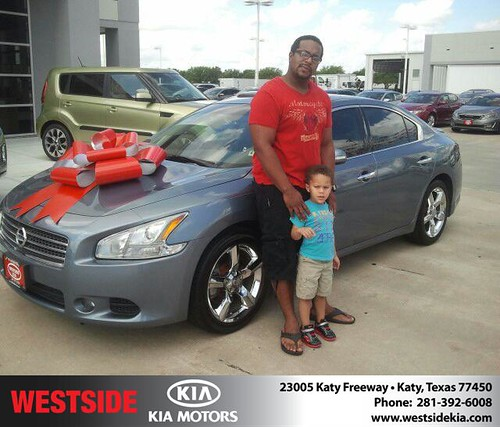 Thank you to Evan Coleman on the 2013  from Gil Guzman and everyone at Westside Kia! by Westside KIA