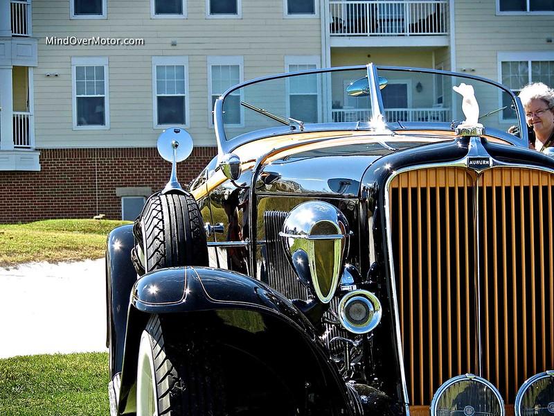 1932 Auburn 12-160A Boattail Speedster at St. Michaels