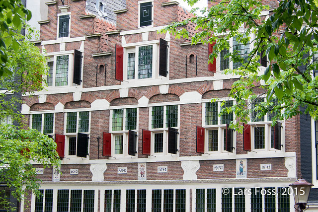 The Three Hendricks House, Bloemgracht, Amsterdam