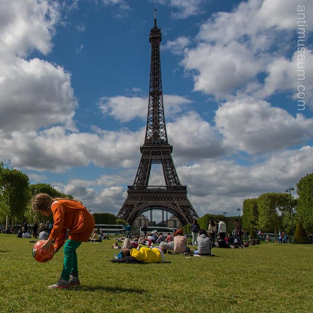 Eiffel tower & champs de mars