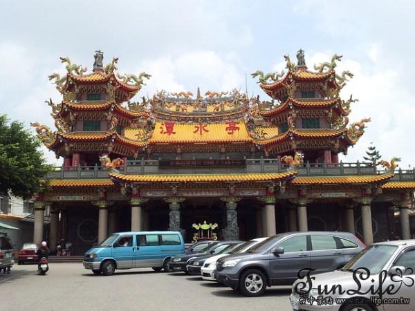 台中景點|廟中有廟潭水亭