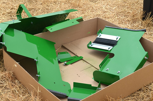The new parts to be placed on our combines