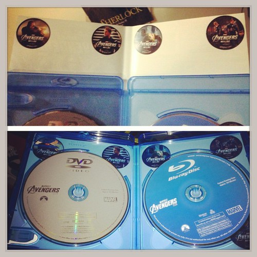 I've started putting my @Getglue stickers inside my blu-ray cases for safe keeping.