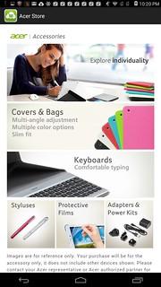 Acer Store ที่ดูจะไม่มีประโยชน์กับผู้ใช้งานชาวไทยซักเท่าไหร่