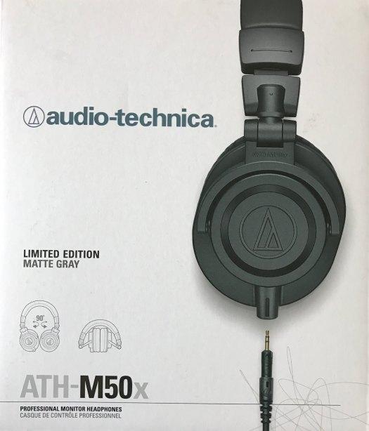 Audio Technica ATH-M50x Matte Gray Limited Edition