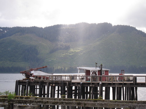 Sun over Icy Strait Point