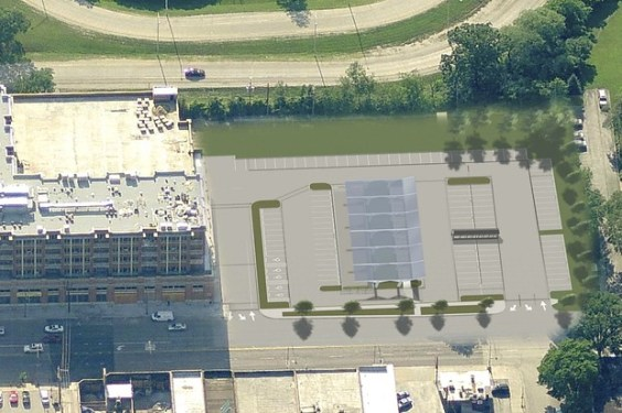 Parking Lot Rendering (Saug. Whole Foods)